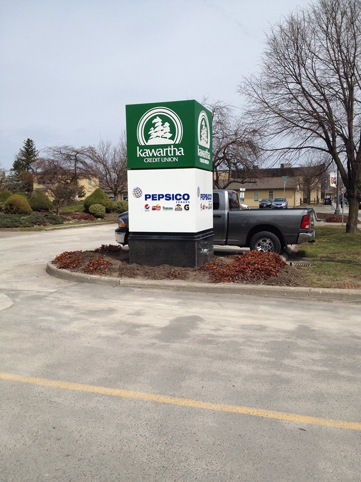 Kawartha Credit Union Sign