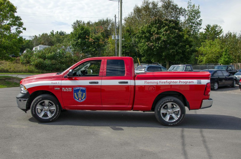 Fleming Firefighter Program Truck