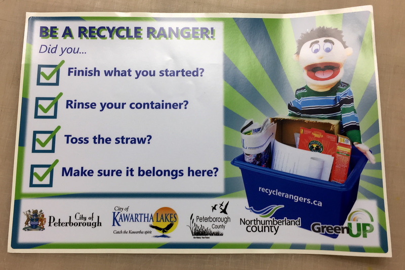 Be a Recycle Ranger Label